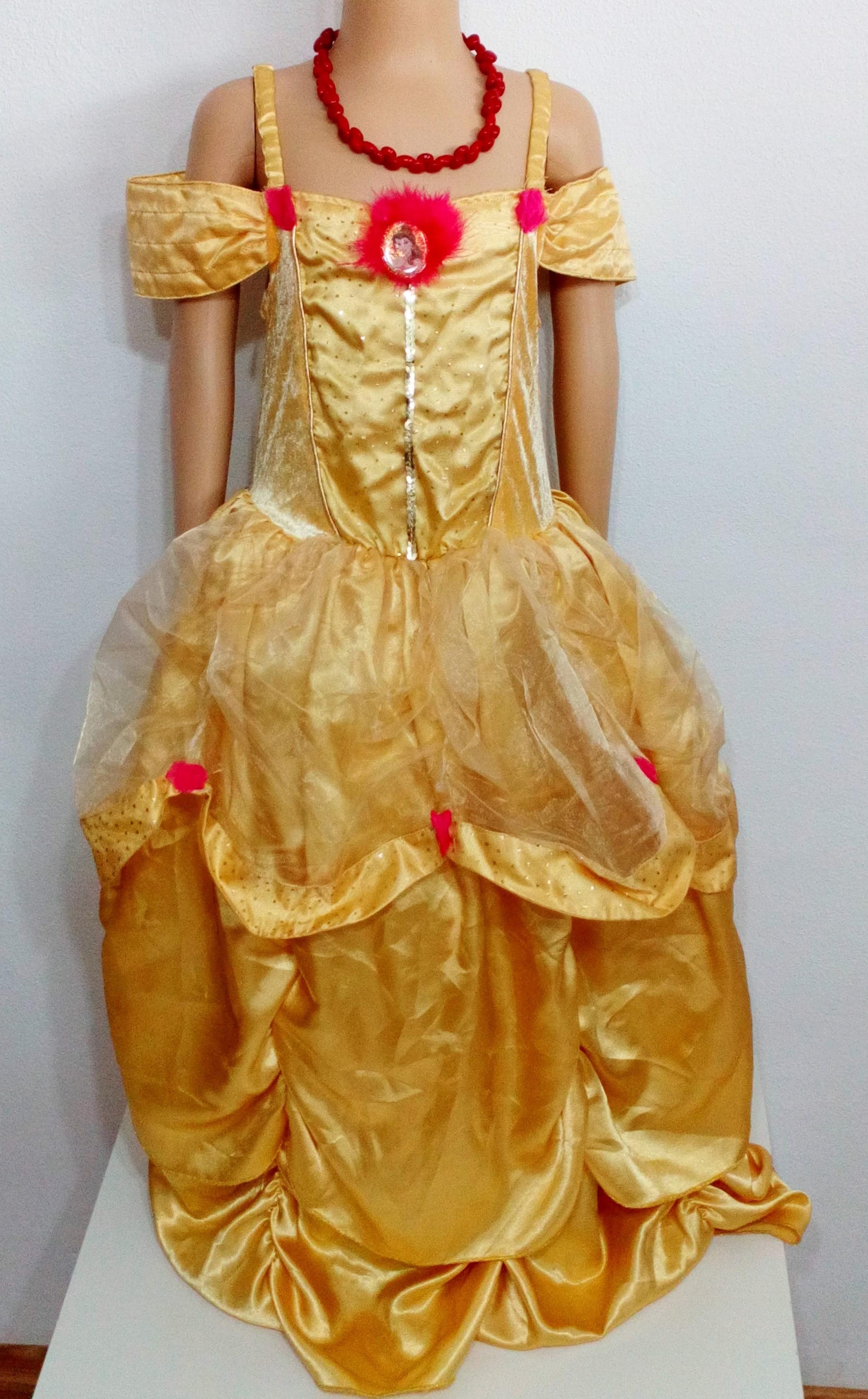 fba8e9e3e171 Dívčí princeznovské šaty George vel.128
