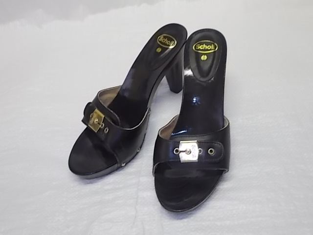 Dámská pantofle Scholl BAND 7 LAC – černé empty 3e5192e81c
