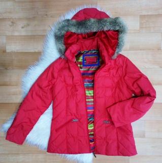 Dámská zimní bunda M S vel.40 42 f1d887f9fa